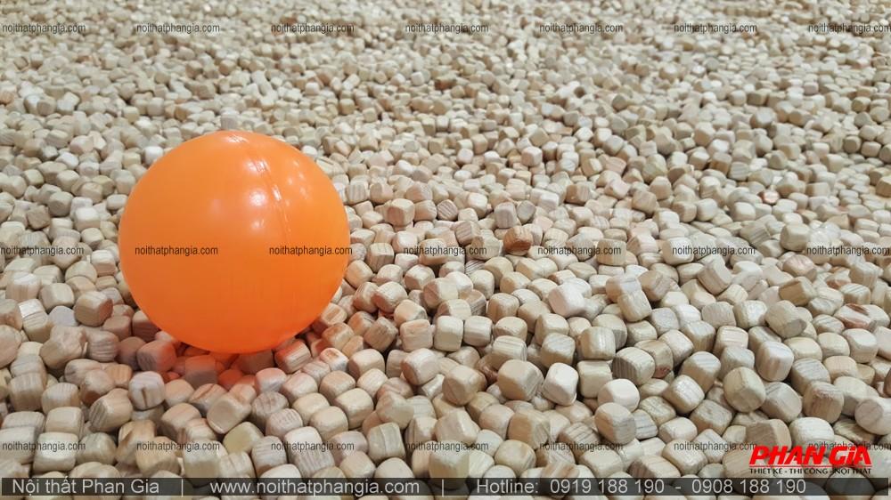 Đồ chơi hạt gỗ - Thiết bị vui chơi thân thiện với môi trường.
