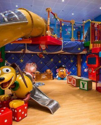Thiết kế khu vui chơi dành cho bé tại gia đình