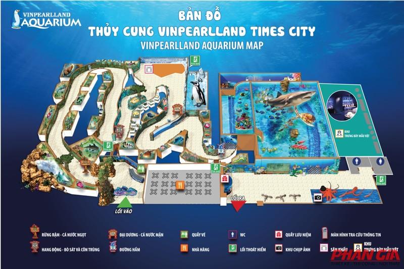 Bản đồ thủy cung time city