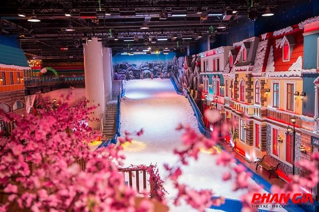 Khu vui chơi Snow Town Sài Gòn
